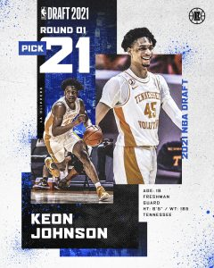 Keon Johnson Clippers