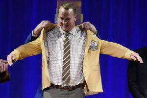 Peyton Manning Hall of Fame