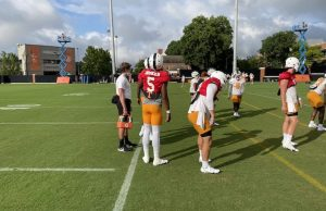Tennessee Practice Fall Camp