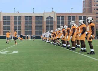 Tennessee Football fall camp