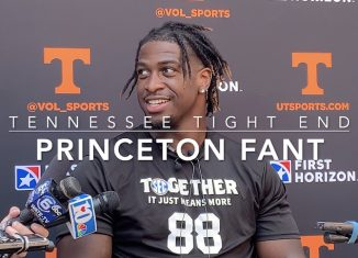 Tennessee Players Meet With Media