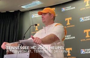 Tennessee Josh heupel