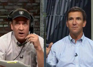 Peyton Manning Monday Night Football