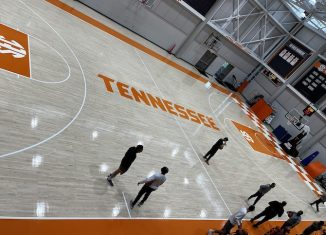 Tennessee Basketball Practice