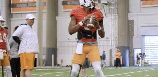 Tennessee Football Practice